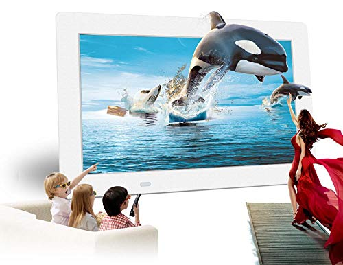 Etoyew 10,1 Zoll Viel Display Display Touch Button kompatibel mit Full HD Video Rahmen