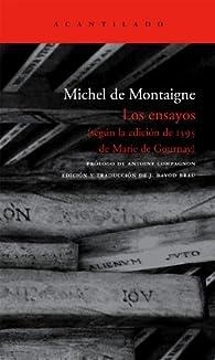 Los ensayos par Michel de Montaigne