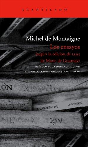 Los ensayos (El Acantilado) por Michel de Montaigne