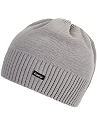 Polar Bear Knitted Hat Marco Grey