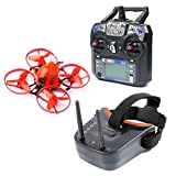 FEICHAO Snapper7 Micro Brushless FPV Racer Drone RTF 700TVL Caméra VTX & Double antenne Mini Lunettes