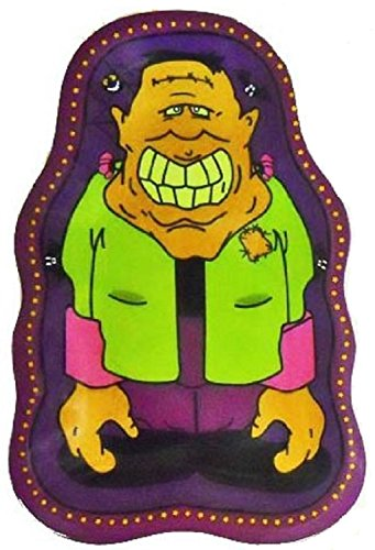 Halloween Zeichen Servierplatte 2Stück Frankenstein