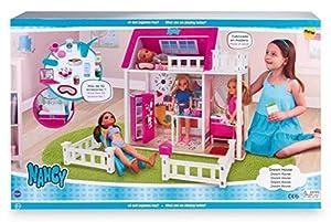 Nancy - Sweet Home, Casa para Muñecas Nancy con Accesorios, para Niños y Niñas a Partir de 3 Años, Multicolor (Famosa 700015130)