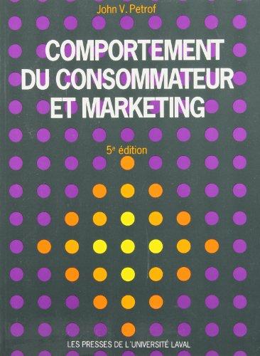 Comportement du consommateur et marketin...
