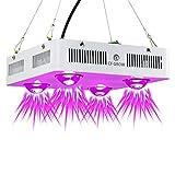 Pflanzenlampe Vollspektrum Led Grow Light 600W COB LED Grow Light Pflanzenlicht Indoor Outdoor Pflanzenwachstum Beleuchtung ultradnne [EnergieklasseA+++]