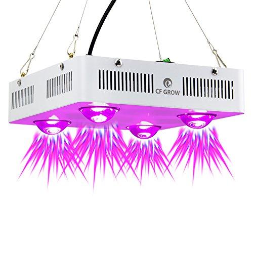 Pflanzenlampe Vollspektrum Led Grow Light 600W COB LED Grow Light Pflanzenlicht Indoor Outdoor Pflanzenwachstum Beleuchtung ultradnne [EnergieklasseA+++] (600w Led)