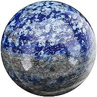 Green Cross Toad Grün Kreuz Kröte Lapis Lazuli Wahrsagen Kristall Ball Wahrsagung Kugel 52mm 230g (LB1) preisvergleich bei billige-tabletten.eu