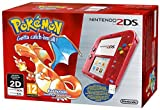 Nintendo 2DS - Console HW, Transparente rote Farbe + Pokémon, (Limited Edition)
