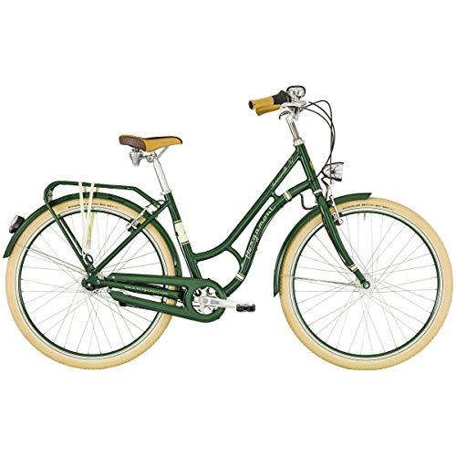 Bergamont Summerville N7 FH 28'' Damen Retro City Fahrrad Beere grün/beige 2019: Größe: 48cm (165-170cm) -