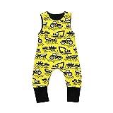 LEXUPE Baby Kleidung Mädchen, Neugeborene MäDchen Jungen Niedlich Cartoon Print Strampler Strampler Kleidung