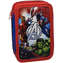 Astro Avengers AS9952 - Plumier con 3 cremalleras