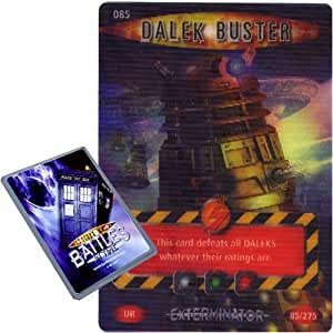 Doctor Who - Single Card : Exterminator 085 Dalek Buster Dr Who Battles in Time Ultra Rare Card