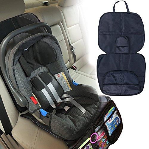 Tiaobug Kindersitz Schutzunterlage Autositzauflage Kindersitzunterlage Kindersitz Unterlage Auto Schutzunterlage