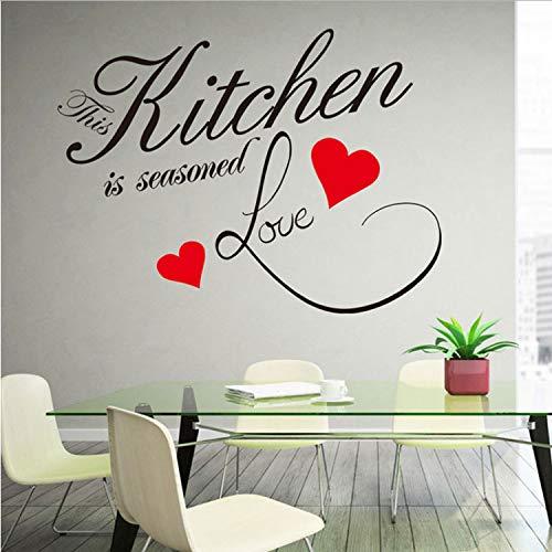 Diese Küche Ist Aufkleber Vinyl Wasserdichte Wohnzimmer Schlafzimmer Hintergrund Home Decor PVC Generation Wandaufkleber
