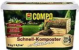 COMPO Schnell-Komposter plus Guano, rasch wirkender Rottekomposter, 3 kg
