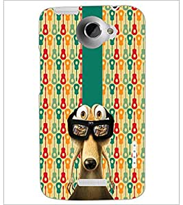 PrintDhaba Scrat D-5085 Back Case Cover for HTC ONE X (Multi-Coloured)