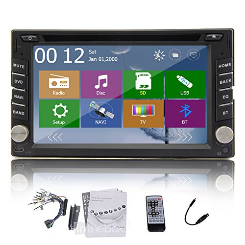 EINCAR Wince 8.0 Multimedia Elettronica Lettore Dvd 2 DIN in Dash Autoradio in Deck Auto Video MP3 Musica Automotive Headunit Auto Radio CD Stereo dell'automobile dello Schermo di Tocco di 6.2 po