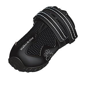 Trixie Walker Active Protective Boots, Medium, Black, M - Size 4