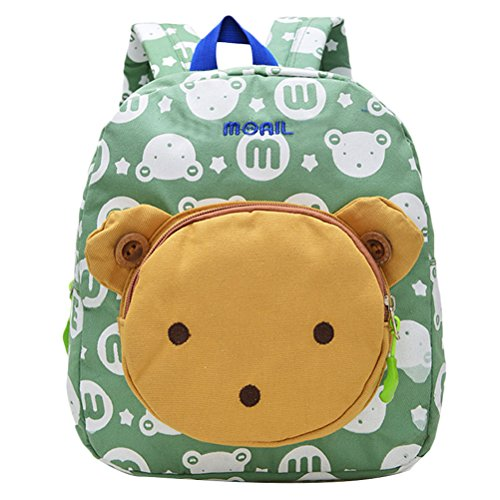e67b8fcc2d Zhhlinyuan High Quality Morral de los niños Bolsas escuela Creative  Kindergarten Backpack Pattern Bear Animals Design