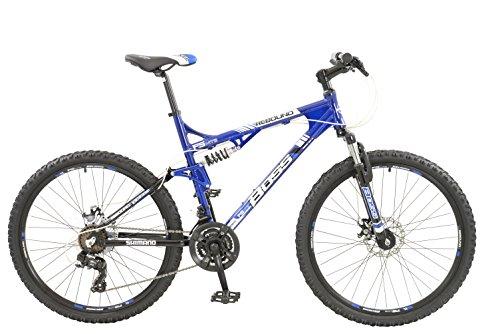 BOSS rebote para hombre de 21velocidades para bicicleta de montaña de doble suspensión con frenos de disco
