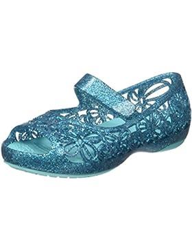 Crocs Isabella Glitter Flat Ps Pool, Bailarinas Niñas