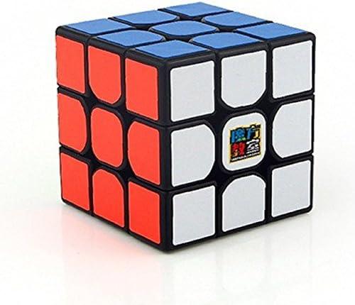 MoYu Cubing Classique Mofang jiaoshi MF3RS Cube Magique 3x3x3 Lisse Puzzle Cube Speed Cube pour Les Compétitions Professionnelles et Les Novices (Noir)   Livraison Immédiate