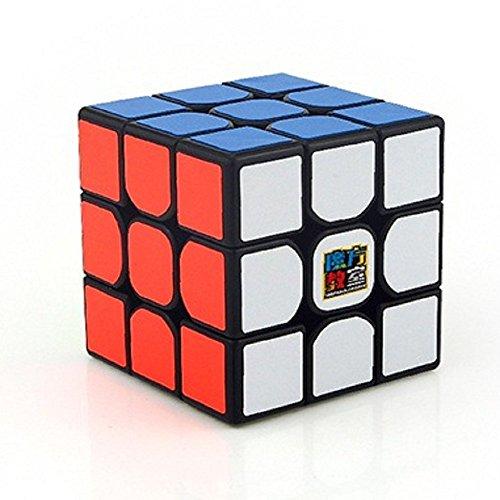 moyu Cubing Klassenzimmer Mofang jiaoshi MF3RS Zauberwürfel 3x3x3 Smooth Puzzle Cube Speed Cube für Professionelle Wettbewerbe und Anfänger (Schwarz)