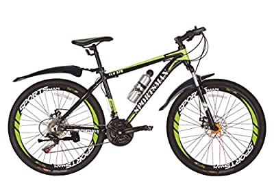 Sportsman Fly370 Mountain Bikes Bicycles Shimano 21-speed with Warranty from Sportsman