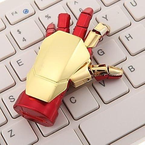 ZP Machanical a mano, 32 GB in metallo Chiavetta USB Flash Drive