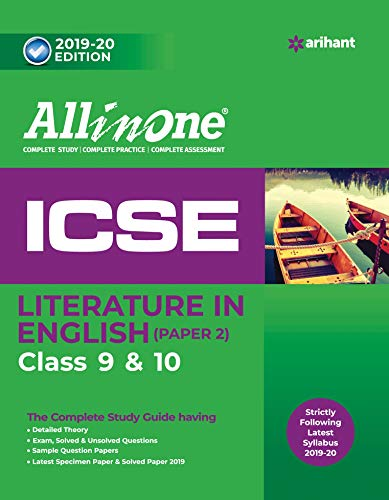 All in One ICSE Literature in English Class 9 and 10