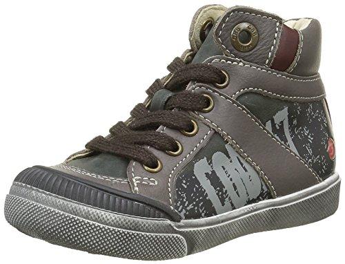 GBBNestor - Sneaker Bambino , Marrone (Marron (15 Vte Taupe/Rouge Dpf/2727)), 33