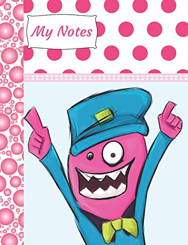 My Notes: Funny Monster Writing Journal Composition Notebook