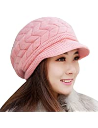 29a2f29f024 Koly Women s Hat Winter Skullies Beanies Knitted Warm Soft Cap