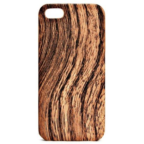 Original DS.Styles Robuste Hard Schutzhülle Case Cover für Apple IPhone5/ 5s in braun Holzmuster