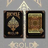 SOLOMAGIA Bicycle Gold Deck by US Playing Cards - Tarjeta Juegos -...