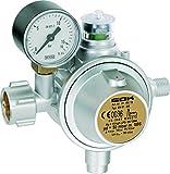 GOK Gewerbe Gasregler EN61-DS 1,5 kg/h 50 mbar SBS mit Manometer