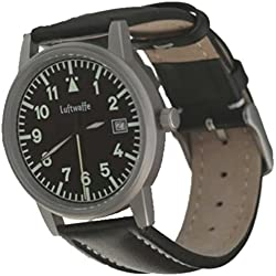 Luftwaffe Steel Pilot Watch