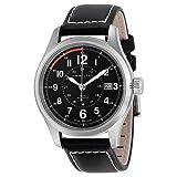 Hamilton Herren Analog Automatik Uhr mit Leder Armband H70595733