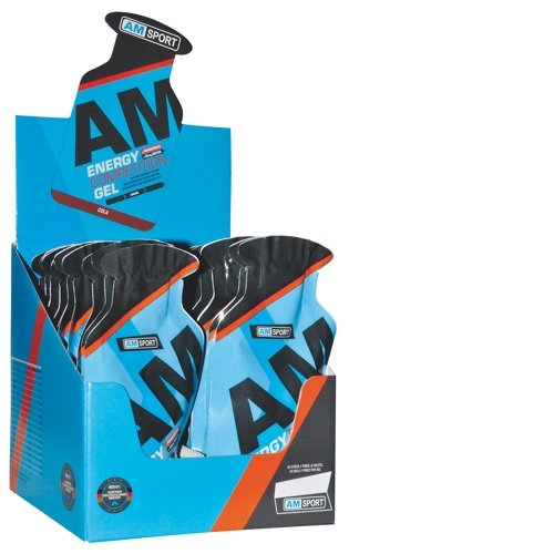 AM Sport Energy Competition Gel Box 24 Beutel 45g Cola+Koffein