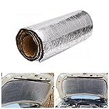 BHPSU 100 cm x 50 cm Autoschalldämmung Geräuschdämmung Wärmeschutz Glasfaser Baumwolle