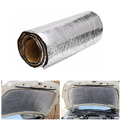 Preisvergleich Produktbild JenNiFer 100cmx50cm Car Sound Proofing Deadening Anti-Noise Insulation Heat Glass Fiber Cotton