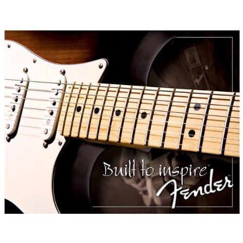 Fender Guitar Built To Inspire metal sign (de)