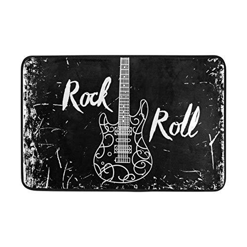 Guitarra eléctrica Letras Rock Roll Fondo Grunge