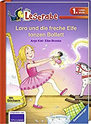 Lara und die freche Elfe tanzen Ballett (Leserabe - 1. Lesestufe)