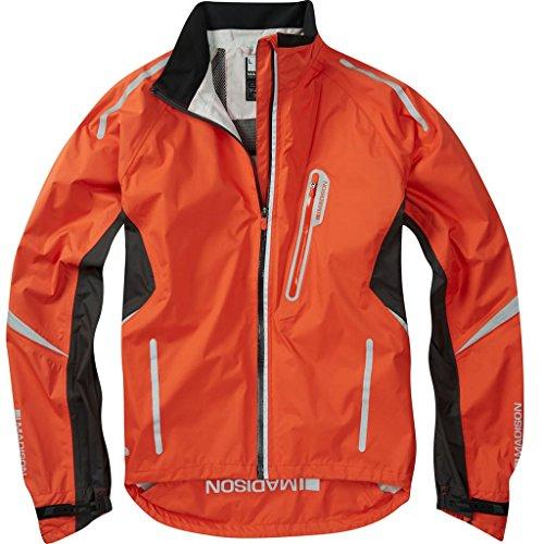 2016 Madison Mens Stellar Waterproof Jacket Chilli Red Small