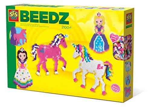 Ses Creative–Abalorios plancha–unicornios y princesas–Beedz, 06216