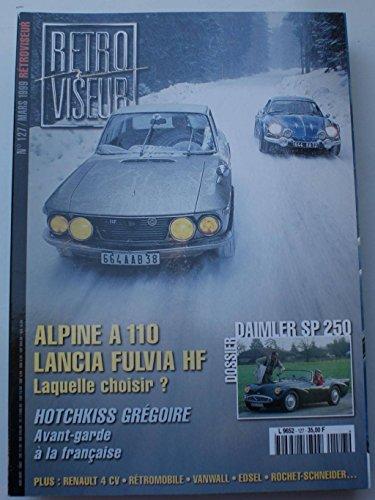 retroviseur-n-127-mars-1999-daimler-sp-250-alpine-a110-lancia-fulvia-hf-hotchkiss-gregoire-renault-4