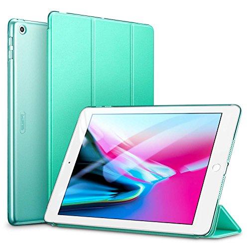 ESR Hülle Kompatibel mit iPad 2018 / iPad 2017 Modell 9,7 Zoll - Ultra Dünnes Smart Case Cover mit Auto Schlaf-/Aufwachfunktion - Kratzfeste Schutzhülle für iPad 6/5 Generation - Minzgrün