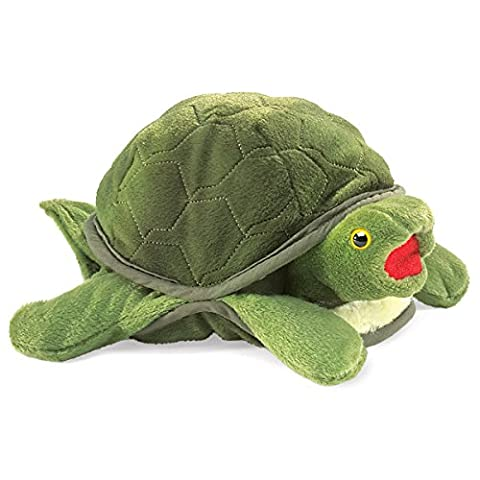 Folkmanis Baby Turtle Hand Puppet
