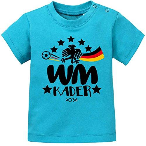 Mikalino Baby/Kinder T-Shirt WM Kader 2038, Farbe:Atoll, Grösse:80/86